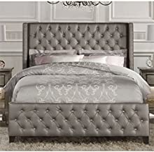 Best leather upholstered bed Reviews