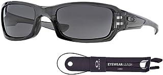 نظارات شمسية مربعة OO9238 للرجال حزمة مع مجموعة اكسسوارات اوكلي من اوكلي