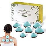 Oh! My Muse Cupping Set - Cupping Therapy Set - Unbreakable Silicone Cupping Kit with No Pump Needed, Therapeutic Cupping Set for Household and Professional Use in Korea