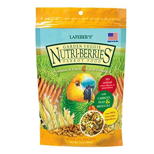 LAFEBER'S Garden Veggie Nutri-Berries - Cibo per Uccelli per Animali Domestici, Realizzato con...