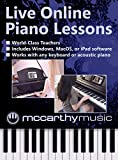 Online Live Piano Lessons & Piano Practice Software [PC Online code]
