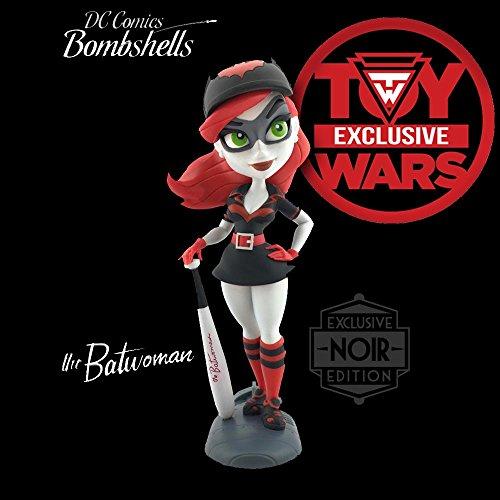 Cryptozoic Entertainment Toy Wars Exclusive DC Bombshells Noir Batwoman Series 2 Vinyl Figure