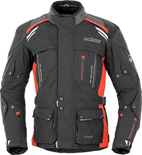 Büse Highland Motorrad Textiljacke 50 Schwarz/Rot