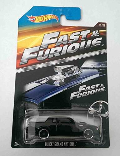 Hot Wheels Fast & Furious Buick Grand National Diecast Car 06/08 by Hot Wheels