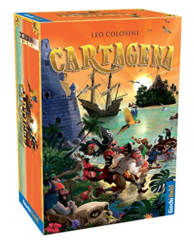 Giochi Uniti - Cartagena Juego de Mesa, Multicolor, GU557.