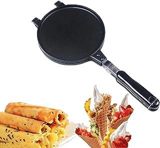 Hushållskruka, Köksartiklar Waffle Cone Aluminium Maker Ice Cree Pan Crêpe Maker Crispy Omelette Pan för Omelette Mold och...