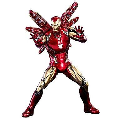 Hot Toys Marvel: Avengers Endgame – Iron Man Mark LXXXV 1:6 Scale Figures, Multicolor, HT904599