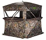 RHINO Blinds x Bone Collector R150BC-RTE 3 Person Hunting Ground Blind, Realtree Edge