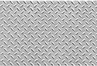 "1:16 Diamond Plate Sheet, 7.5""x12"" (2)"