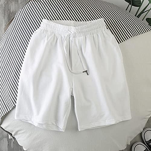 ShSnnwrl Pantalones Cortos de Hombre Pantalones Cortos Deportivos Informales de Moda de Verano sólidos para Hombre Pantalones Cortos Deportivos de Moda para ho
