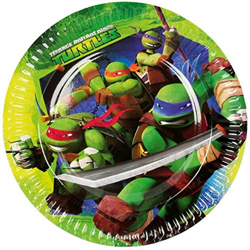 Teenage Mutant Ninja Turtles Party Paper Plates pack of 8