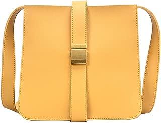COAFIT Women's Shoulder Bag Large Messenger Bag Travel Shoulder Bag for Outdoor (Yellow)