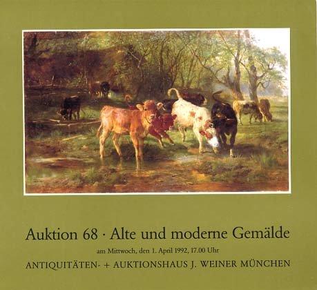 Antiquitäten und Auktionshaus J. Weiner - Auktion 68 - Alte und moderne Gemälde