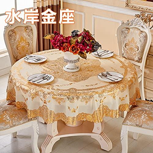 sans_marque Mantel, mantel, mantel lavable, mantel moderno, decoración de mesa de cocina, 210 cm