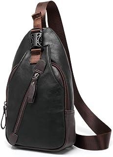 Bageek Mens Chest Bag Sling Backpack Portable Creative Sling Bag for Travel