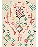 MANI TEXTILE Tapis Style BERBERES (ISLEMELI, 200_x_290_cm)