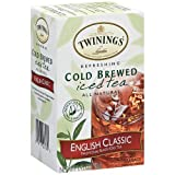 Twinings English Classic Cold Brew Iced Tea, 40 Count