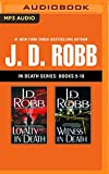 MP3 CD J. D. Robb - In Death Series: Books 9-10: Loyalty in Death, Witness in Death Book