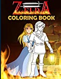 Zelda Coloring Book: Zelda Anxiety Coloring Books For Adults, Boys, Girls Designed To Relax And Calm