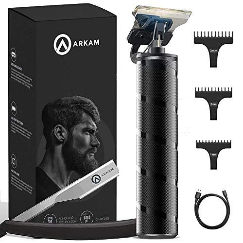 Arkam Beard Trimmer For Men - Cordless, Water-Resistant Hair Grooming...