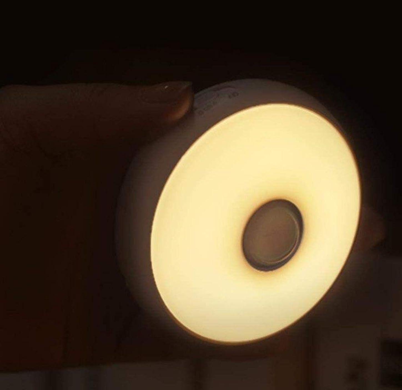 恥ずかしい偶然抵抗人体誘導ランプ赤外線ランプ制御は夜の光充電家の寝室のワードローブを主導
