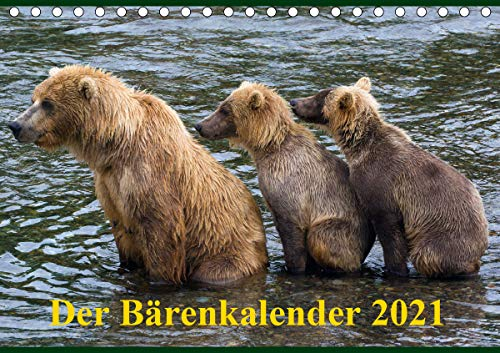 Der Bärenkalender 2021 CH-Version (Tischkalender 2021 DIN A5 quer)