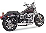 Bassani Road Rage II 2 into 1 Exhaust Chrome 1D32R