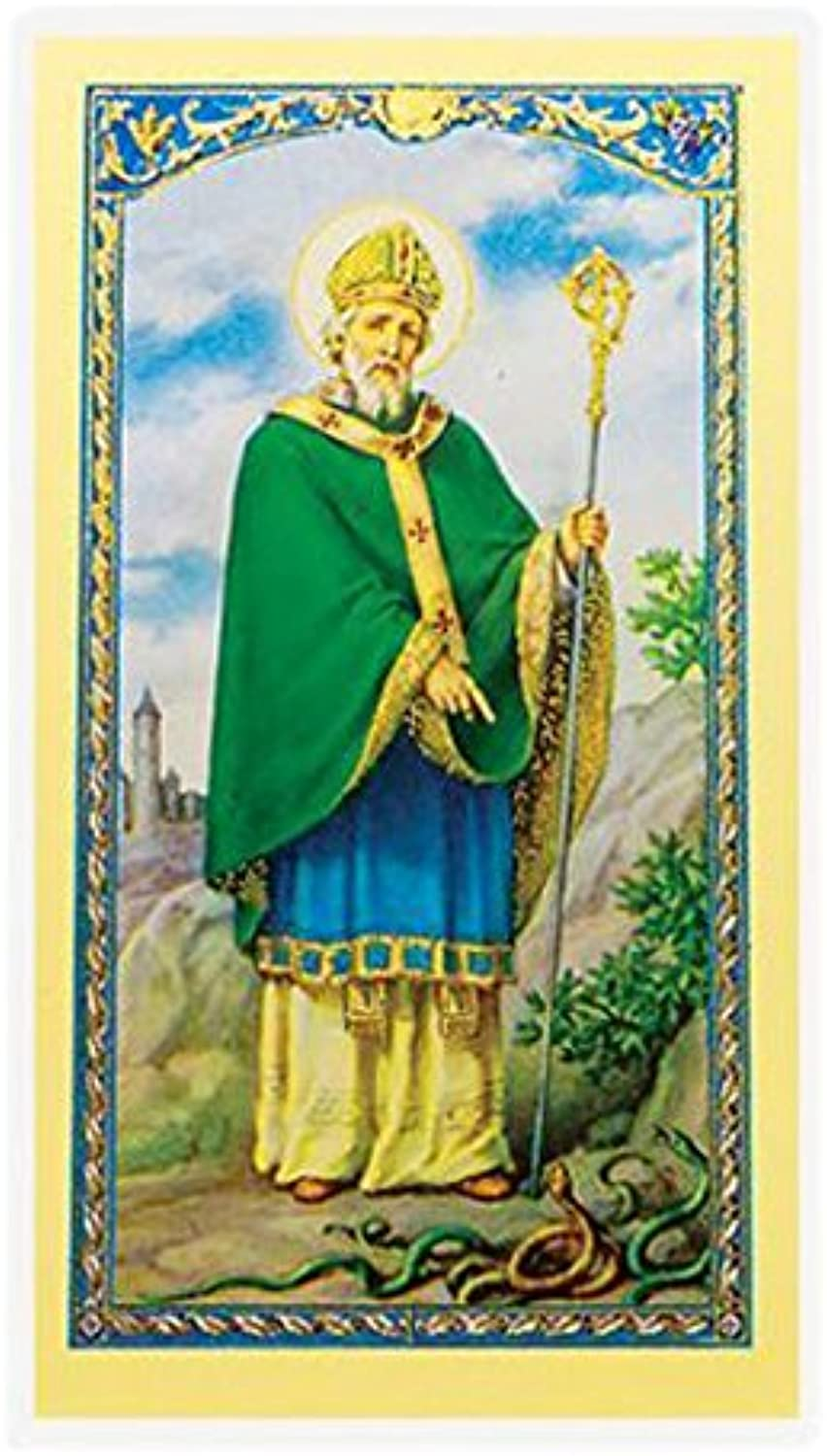 StealStreet SSWJHE24644 an Old Irish Benediction, Clear Holy Cards
