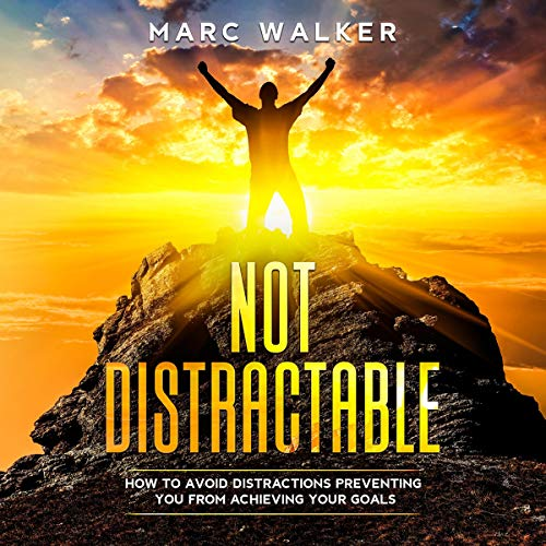 Not Distractable audiobook cover art