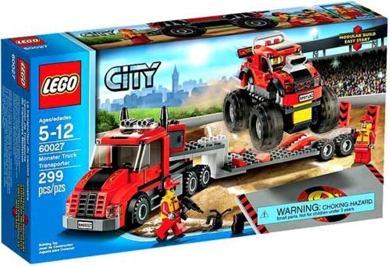 Lego City Monster Truck Transporter  60027