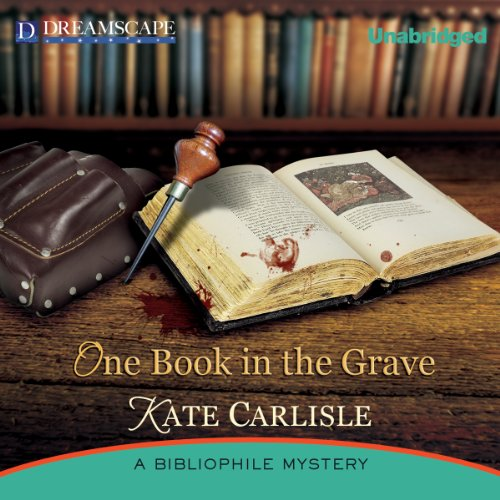 One Book in the Grave audiobook cover art