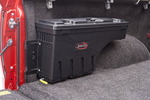 Undercover SwingCase Truck Bed Storage Box | SC100D | Fits 07-20 2007-& Chevrolet Silverado/GMC Sierra 1500-3500Drivers Side 1500-3500,Black