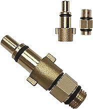Mannelijke draad Adapter en druk Washer Foam Cannon Fles Koper Connector Messing Vrouwelijke Adapter van Sneeuw Foam Lance...