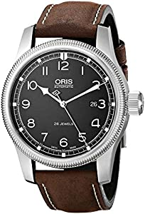 Oris Men's 73376694084LS Challenge Analog Display Swiss Automatic Brown Watch Sale and Now and review