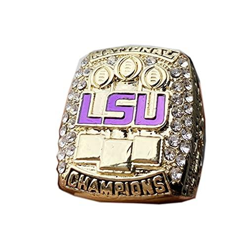 TYTY NCAA 2019 Louisiana University League LSU Championship Ring Campeonato Anillo para los fanáticos Hombres colección Regalo de visualización campeón del Recuerdo de réplica,Without Box,11#