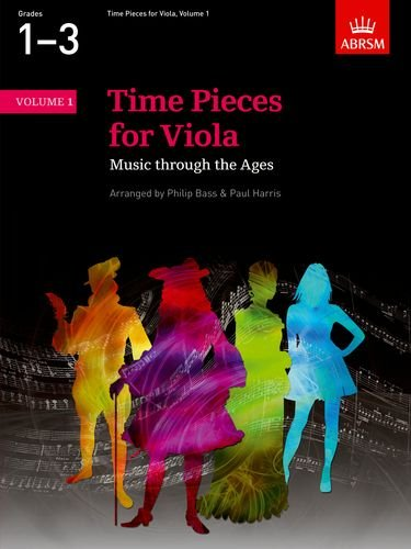 Time Pieces for Viola, Volume 1: Music through the Ages in Two Volumes