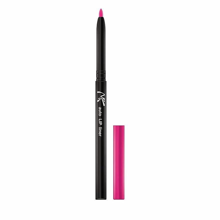 (3 Pack) NICKA K Auto Lip Pencil - AA31 Deep Pink (並行輸入品)