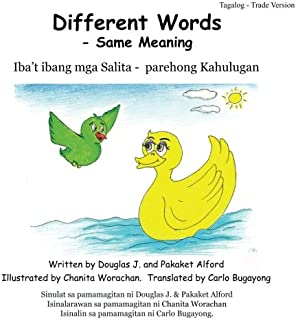 Different Words - Same Meaning Tagalog Trade Version