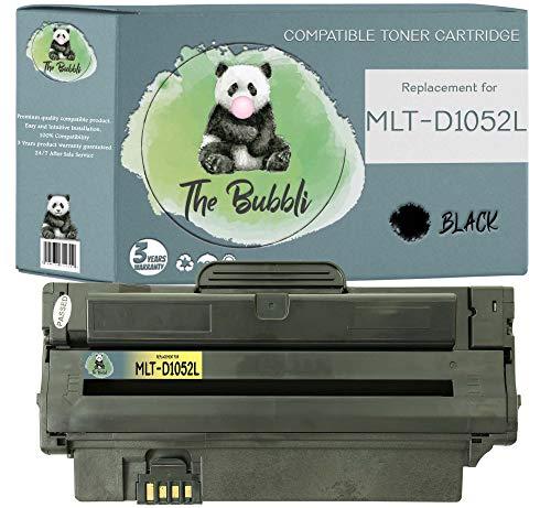 The Bubbli Original   MLT-D1052L 1052L Tóner Compatible para Samsung ML-1910 ML-1915 ML-2525 ML-2525W ML-2580N SCX-4600 SCX-4623F SCX-4623FN SCX-4623FW SF-650 (1 Negro)