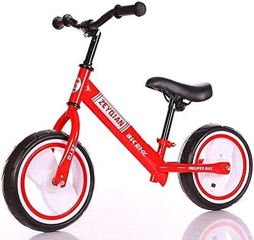 1-1 Balance Fahrrad Kinder, Flash Weel Djustable Lenker und Sattel Leicht umweltfreundlich