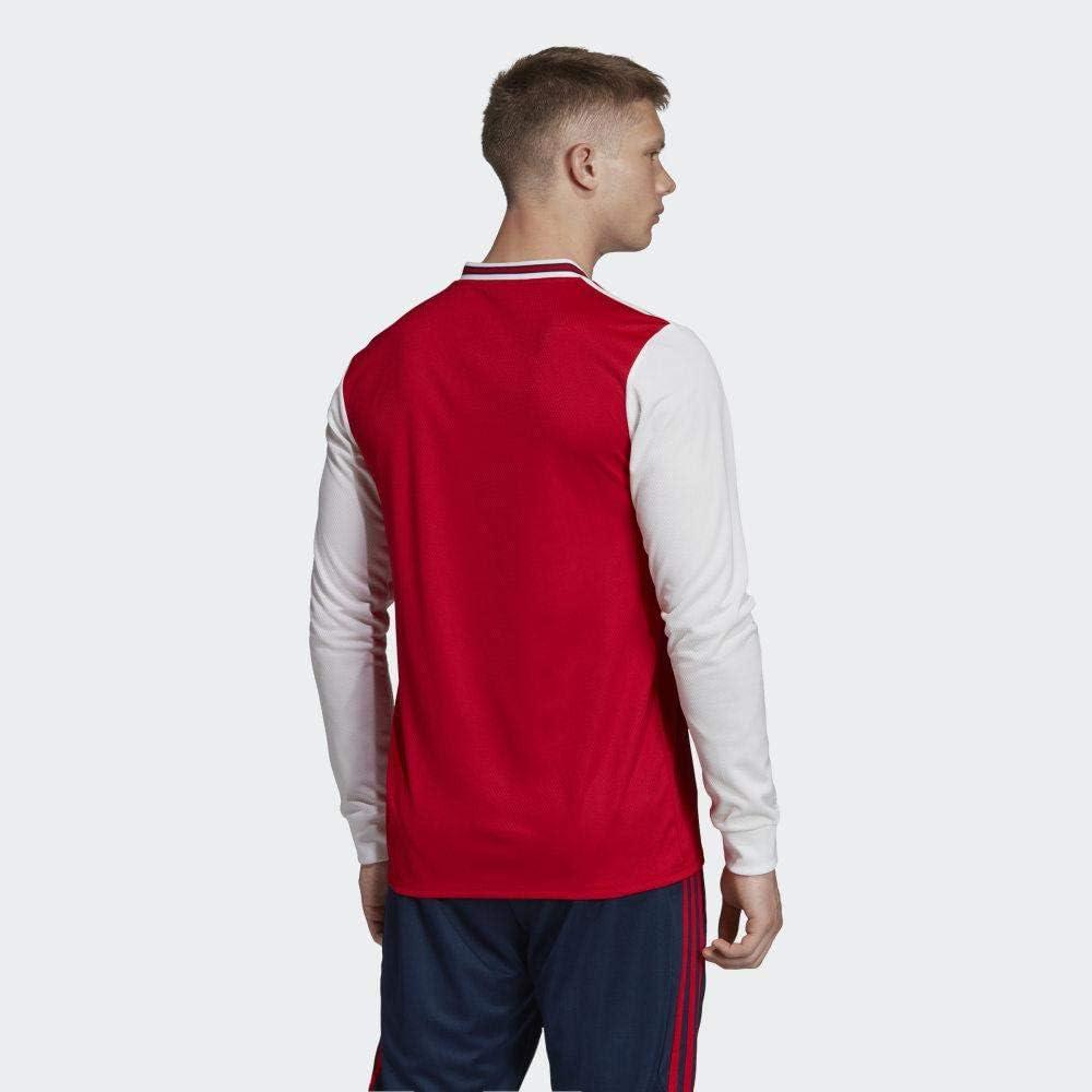 Buy adidas 2019-2020 Arsenal Home Long Sleeve Football Soccer T ...
