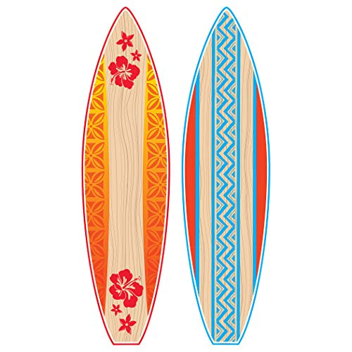 Teacher Created Resources TCR5090 Giant Surfboards Bulletin Board Display Set, Paper, Multi