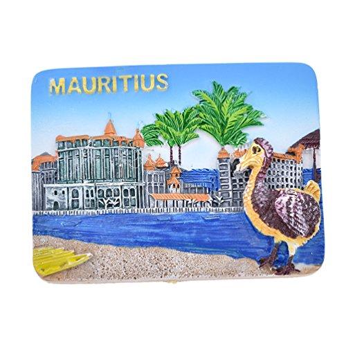 Hongma Magnete del Frigorifero Calamita da Frigo Magneti per Frigo Mauritius Scenario Fridge Magnet Regalo