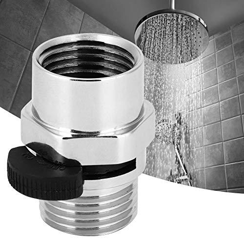 Xinwoer Duschventiladapter, 1 / 2in Duschkopfventil, Absperrventil für Küche Hotel Bad Toilette