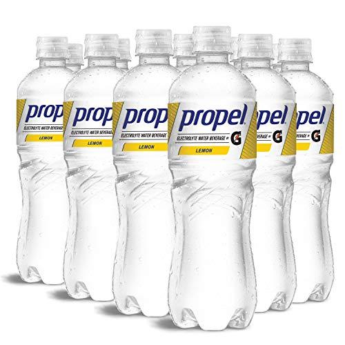 推进,柠檬,零卡路里水饮料具有电解质和维生素C&E,24液量盎司(12包)