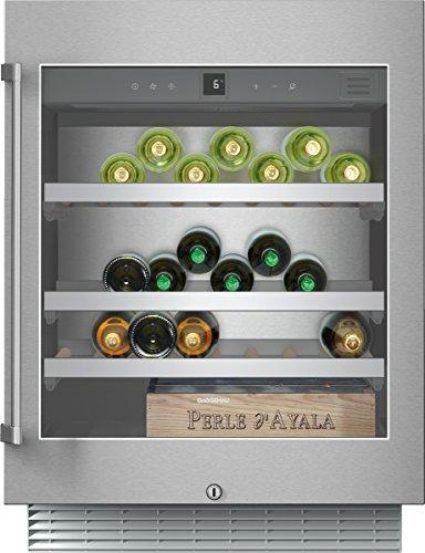 Gaggenau Cantina vino sottotop monoporta RW 402 261 con porta in cristallo da 60cm