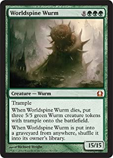 Magic: the Gathering - Worldspine Wurm (140) - Return to Ravnica