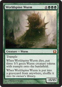 Magic: the Gathering - Worldspine Wurm (140) - Return to Ravnica