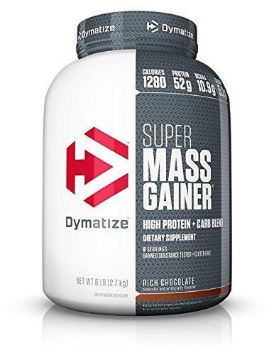 Dymatize Mezcla de Proteínas y Aminoácidos Super Mass Gainer, Chocolate, 6 lb