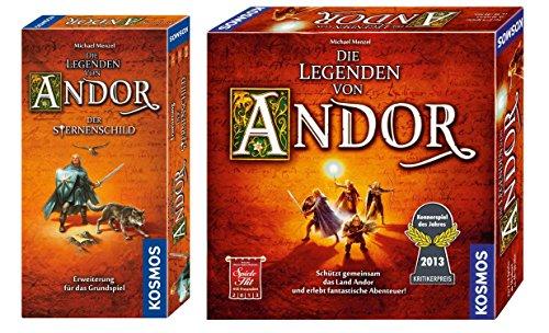 Die Legenden von Andor Bundle - Kosmos 691745 - Die Legenden von Andor + Kosmos 691936 - Erweiterung Der Sternenschild
